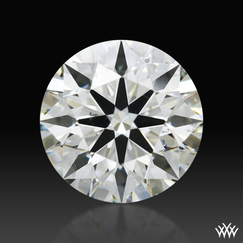 0.442 ct I SI1 A CUT ABOVE® Hearts and Arrows Super Ideal Round Cut Loose Diamond