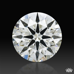 0.43 ct I SI1 A CUT ABOVE® Hearts and Arrows Super Ideal Round Cut Loose Diamond