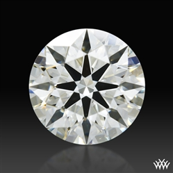 0.403 ct J VS2 A CUT ABOVE® Hearts and Arrows Super Ideal Round Cut Loose Diamond
