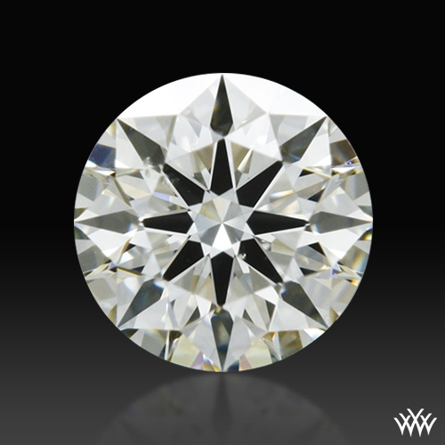 0.322 ct J SI1 A CUT ABOVE® Hearts and Arrows Super Ideal Round Cut Loose Diamond