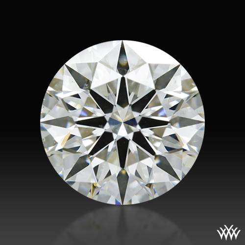 1.317 ct I SI1 A CUT ABOVE® Hearts and Arrows Super Ideal Round Cut Loose Diamond