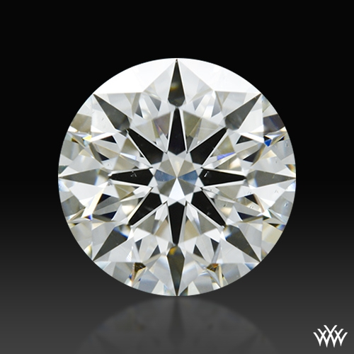 1.257 ct J SI1 A CUT ABOVE® Hearts and Arrows Super Ideal Round Cut Loose Diamond