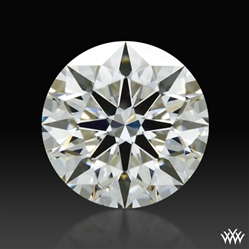 1.087 ct J SI1 A CUT ABOVE® Hearts and Arrows Super Ideal Round Cut Loose Diamond
