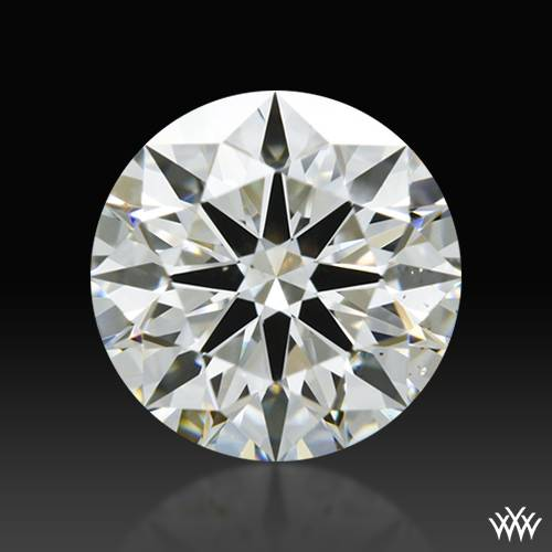 1.078 ct I SI1 A CUT ABOVE® Hearts and Arrows Super Ideal Round Cut Loose Diamond