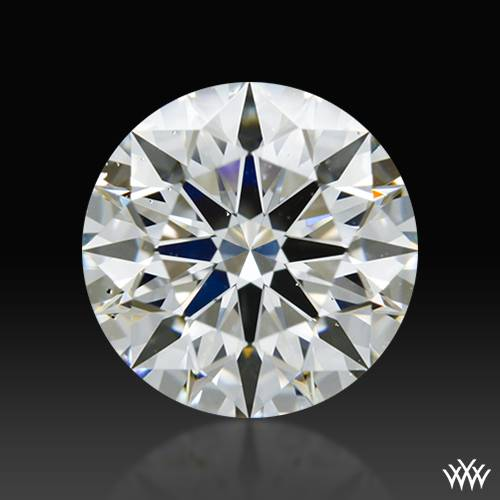 1.076 ct H SI1 A CUT ABOVE® Hearts and Arrows Super Ideal Round Cut Loose Diamond