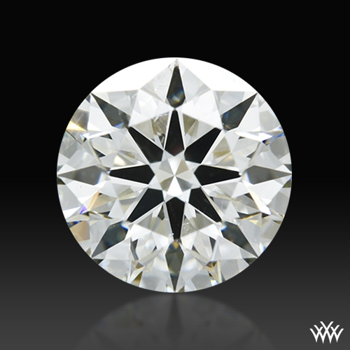 1.328 ct J SI1 A CUT ABOVE® Hearts and Arrows Super Ideal Round Cut Loose Diamond