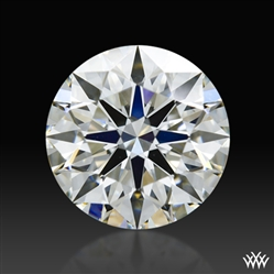 0.724 ct H VS1 A CUT ABOVE® Hearts and Arrows Super Ideal Round Cut Loose Diamond
