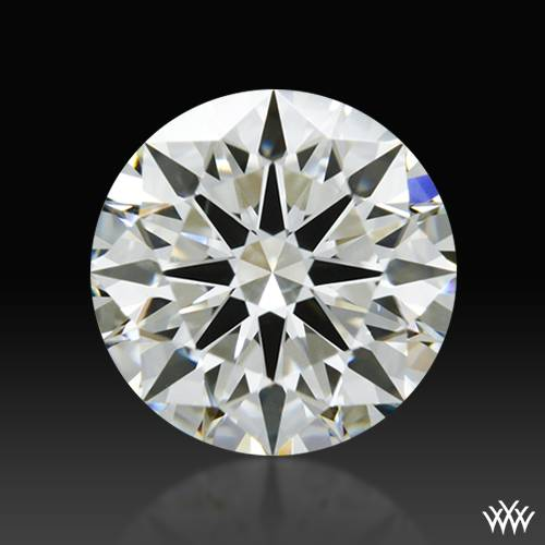 0.904 ct J SI1 A CUT ABOVE® Hearts and Arrows Super Ideal Round Cut Loose Diamond