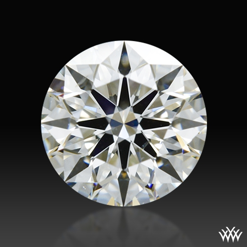 0.822 ct H SI1 A CUT ABOVE® Hearts and Arrows Super Ideal Round Cut Loose Diamond