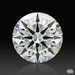 0.702 ct G SI1 A CUT ABOVE® Hearts and Arrows Super Ideal Round Cut Loose Diamond