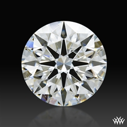 0.727 ct F SI1 A CUT ABOVE® Hearts and Arrows Super Ideal Round Cut Loose Diamond