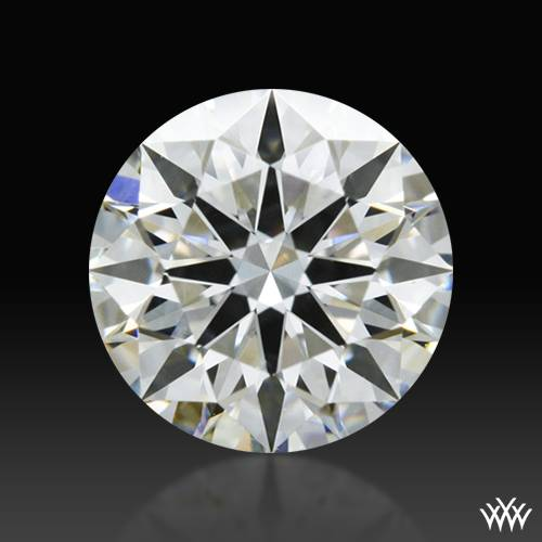 0.727 ct H SI1 A CUT ABOVE® Hearts and Arrows Super Ideal Round Cut Loose Diamond