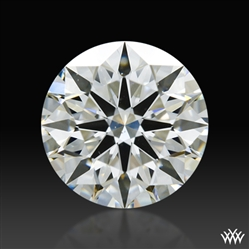 0.811 ct J VS2 A CUT ABOVE® Hearts and Arrows Super Ideal Round Cut Loose Diamond