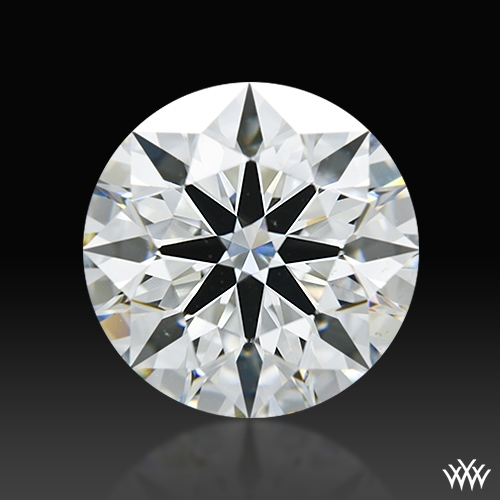 2.542 ct H VS2 A CUT ABOVE® Hearts and Arrows Super Ideal Round Cut Loose Diamond