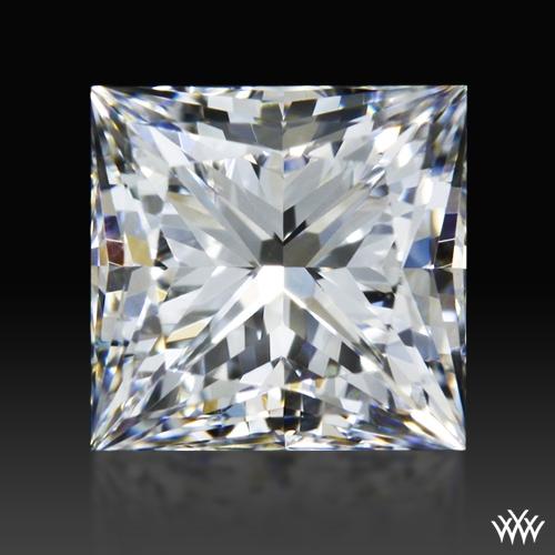 0.714 ct F VVS2 A CUT ABOVE® Princess Super Ideal Cut Diamond