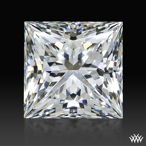 1.266 ct H VVS2 A CUT ABOVE® Princess Super Ideal Cut Diamond