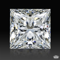 1.266 ct H VVS2 A CUT ABOVE® Princess Super Ideal Cut Diamond