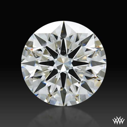 1.234 ct H SI1 A CUT ABOVE® Hearts and Arrows Super Ideal Round Cut Loose Diamond