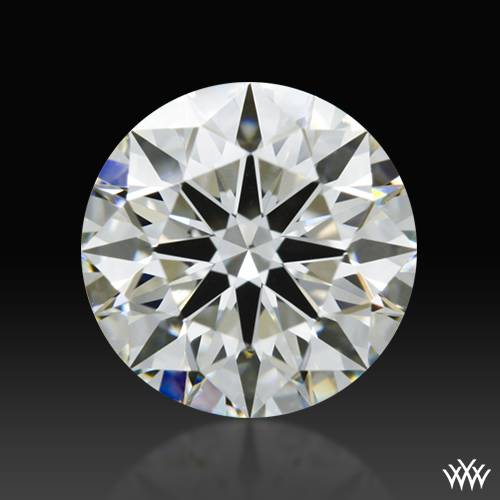 0.812 ct J VS1 A CUT ABOVE® Hearts and Arrows Super Ideal Round Cut Loose Diamond