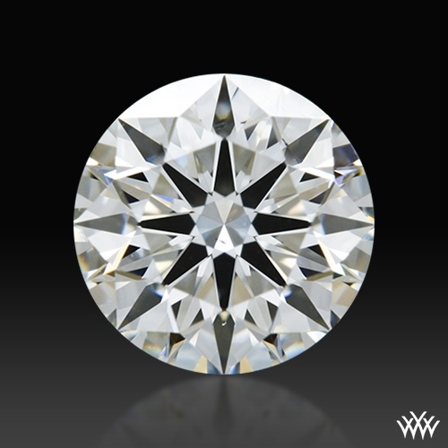 1.037 ct H VS2 A CUT ABOVE® Hearts and Arrows Super Ideal Round Cut Loose Diamond