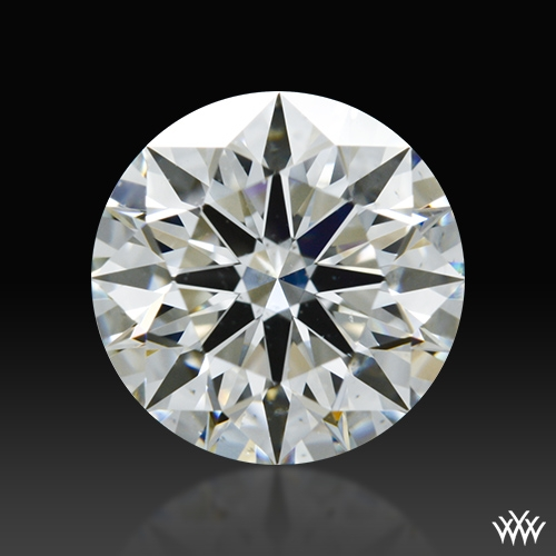 1.086 ct I SI1 A CUT ABOVE® Hearts and Arrows Super Ideal Round Cut Loose Diamond