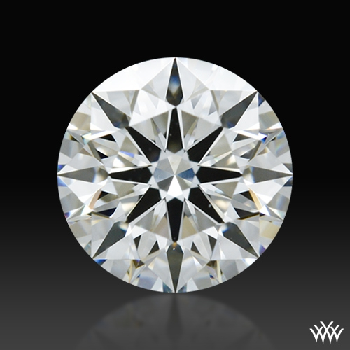 0.915 ct H VS1 A CUT ABOVE® Hearts and Arrows Super Ideal Round Cut Loose Diamond
