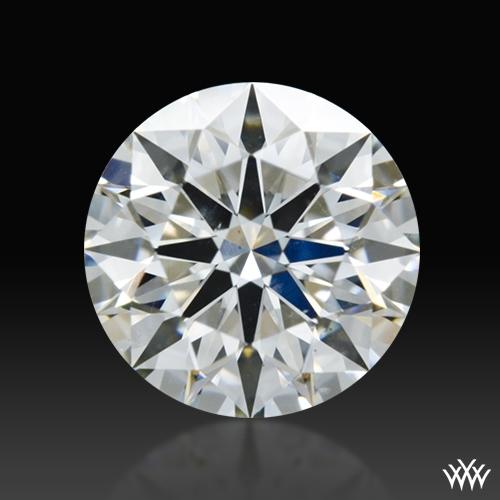 0.815 ct H SI1 A CUT ABOVE® Hearts and Arrows Super Ideal Round Cut Loose Diamond