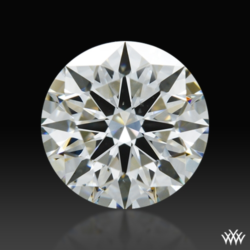 0.817 ct I VS2 A CUT ABOVE® Hearts and Arrows Super Ideal Round Cut Loose Diamond