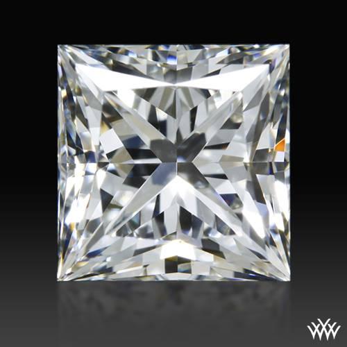 0.902 ct H VVS2 A CUT ABOVE® Princess Super Ideal Cut Diamond