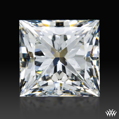 1.205 ct H VS1 A CUT ABOVE® Princess Super Ideal Cut Diamond