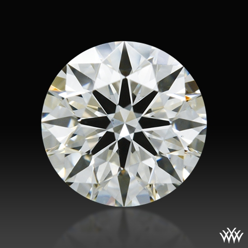 0.556 ct I VS2 A CUT ABOVE® Hearts and Arrows Super Ideal Round Cut Loose Diamond