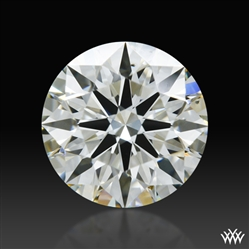 0.704 ct I SI1 A CUT ABOVE® Hearts and Arrows Super Ideal Round Cut Loose Diamond