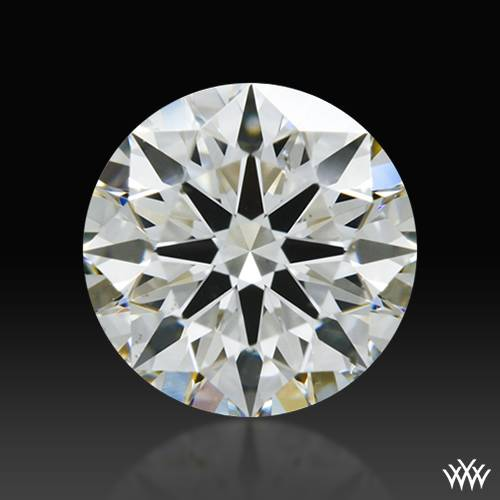 0.704 ct J SI1 A CUT ABOVE® Hearts and Arrows Super Ideal Round Cut Loose Diamond