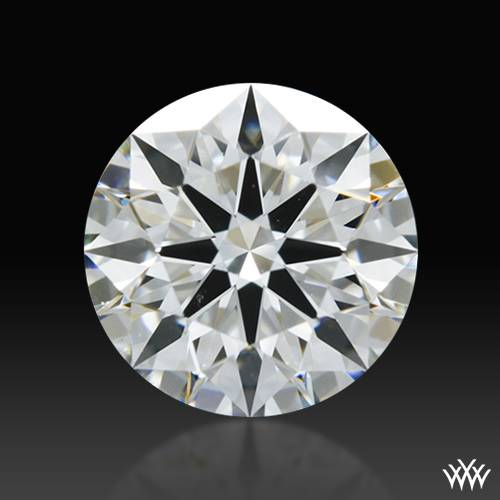 0.621 ct F SI1 A CUT ABOVE® Hearts and Arrows Super Ideal Round Cut Loose Diamond