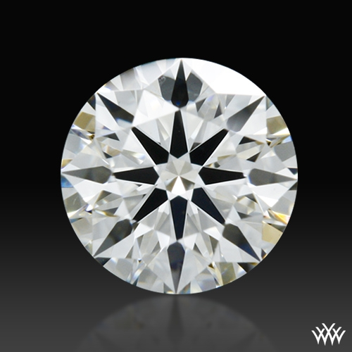 0.452 ct H VS1 A CUT ABOVE® Hearts and Arrows Super Ideal Round Cut Loose Diamond