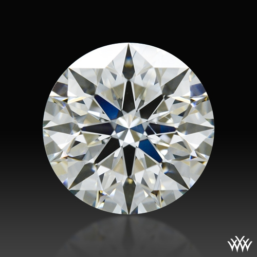 0.765 ct J VS2 A CUT ABOVE® Hearts and Arrows Super Ideal Round Cut Loose Diamond