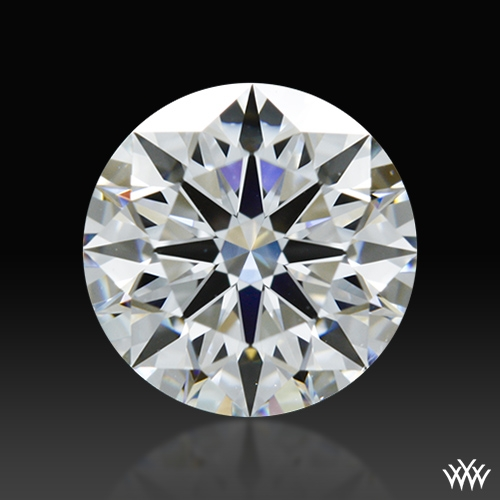0.907 ct D VS2 A CUT ABOVE® Hearts and Arrows Super Ideal Round Cut Loose Diamond