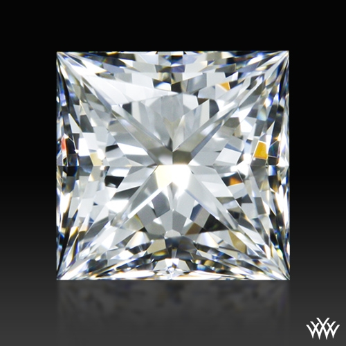 0.731 ct E VVS2 A CUT ABOVE® Princess Super Ideal Cut Diamond