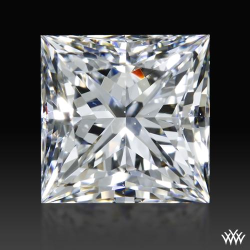 0.956 ct F VS2 A CUT ABOVE® Princess Super Ideal Cut Diamond