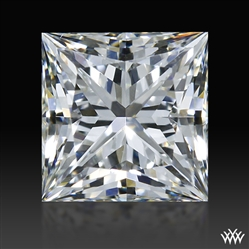 0.533 ct H VS1 A CUT ABOVE® Princess Super Ideal Cut Diamond