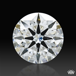 1.268 ct F SI1 A CUT ABOVE® Hearts and Arrows Super Ideal Round Cut Loose Diamond