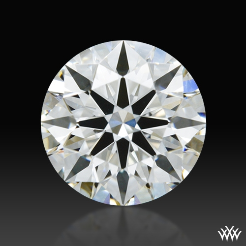 0.502 ct I SI1 A CUT ABOVE® Hearts and Arrows Super Ideal Round Cut Loose Diamond