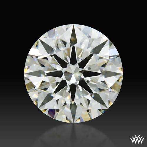 0.634 ct J VS2 A CUT ABOVE® Hearts and Arrows Super Ideal Round Cut Loose Diamond