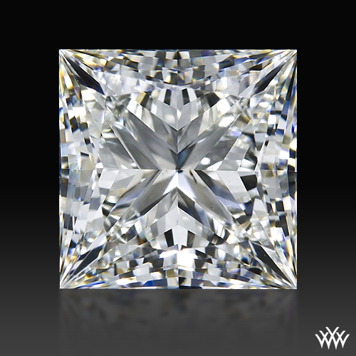 1.515 ct I SI1 A CUT ABOVE® Princess Super Ideal Cut Diamond