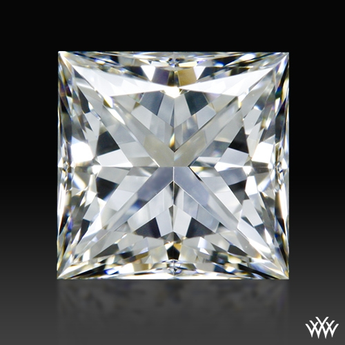 0.772 ct H VVS2 A CUT ABOVE® Princess Super Ideal Cut Diamond