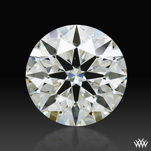 0.438 ct J VS2 A CUT ABOVE® Hearts and Arrows Super Ideal Round Cut Loose Diamond