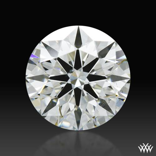 0.446 ct I VS2 A CUT ABOVE® Hearts and Arrows Super Ideal Round Cut Loose Diamond