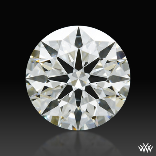 0.411 ct J SI1 A CUT ABOVE® Hearts and Arrows Super Ideal Round Cut Loose Diamond