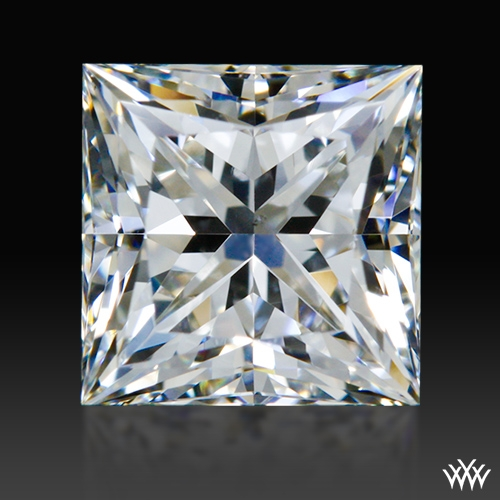 0.928 ct G VS2 A CUT ABOVE® Princess Super Ideal Cut Diamond