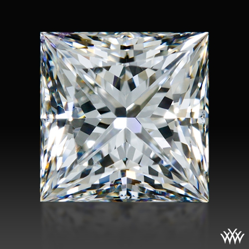 1.206 ct F VS1 A CUT ABOVE® Princess Super Ideal Cut Diamond